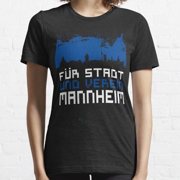 Mannheim Stadt Ultras, Hooligans Deutschland Essential T-Shirt