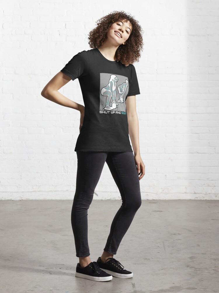 Alternative Ansicht von Shut Up And Squat - Squat Workout Essential T-Shirt