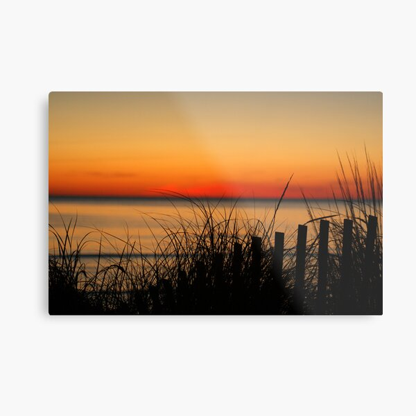 Cape Charles Sunset Metal Print