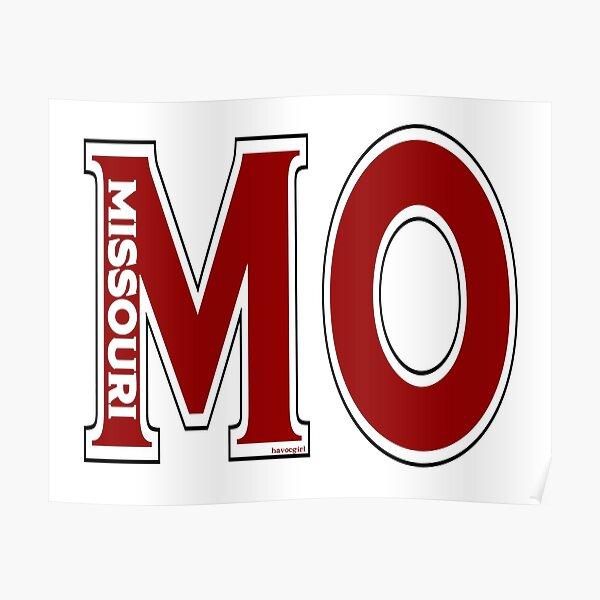 Abbreviated Missouri Poster