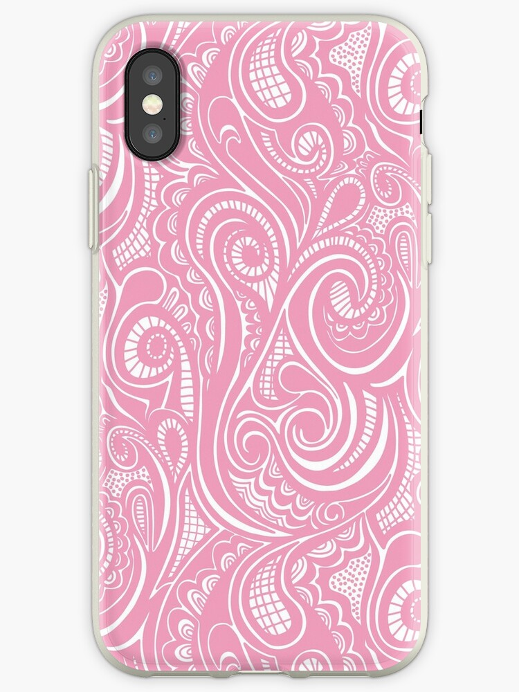 Swirly Pink by CajaDesign