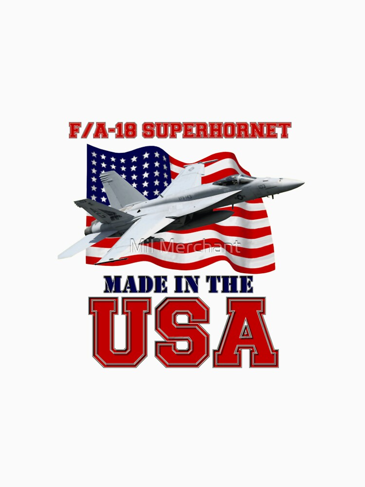 F/A-18 SuperHornet Made in the USA by BasilBarfly