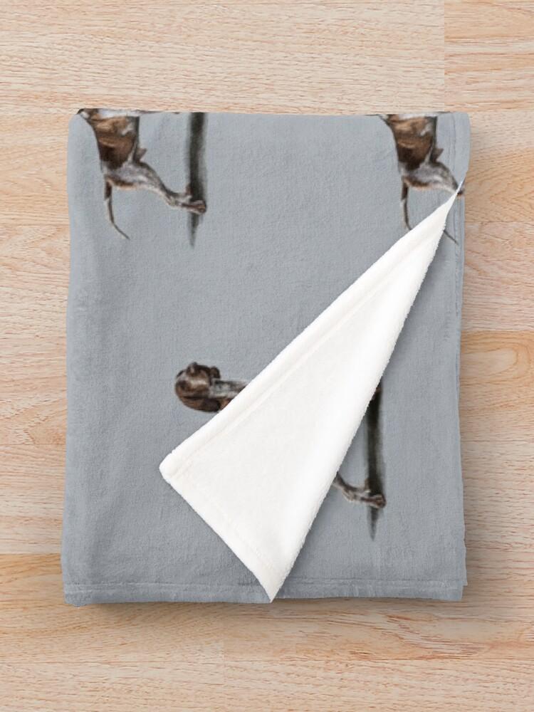 Alternate view of The Bracco Italiano Throw Blanket