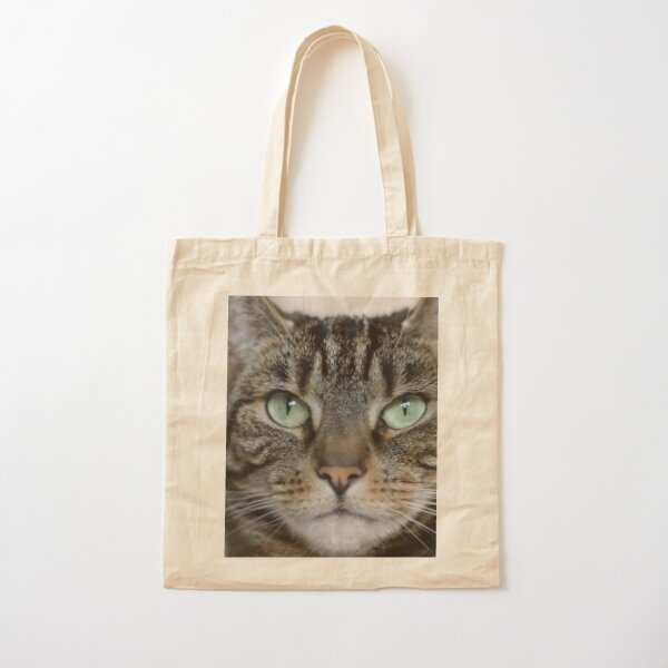 Athena Wise Kitty Goddess Cat Photography Cotton Tote Bag