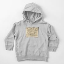 Map of Mallorca, 1683 -Vicente Mut Toddler Pullover Hoodie