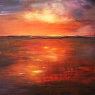 Coorong Sunset - South Australia by Cheryl White