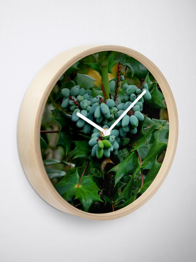 Alternate view of Wild Berries Clock