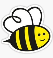Cute Baby Bee Sticker