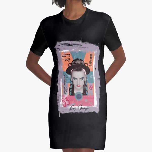 Boy George  Graphic T-Shirt Dress