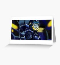 Inside the Gypsy Danger Greeting Card