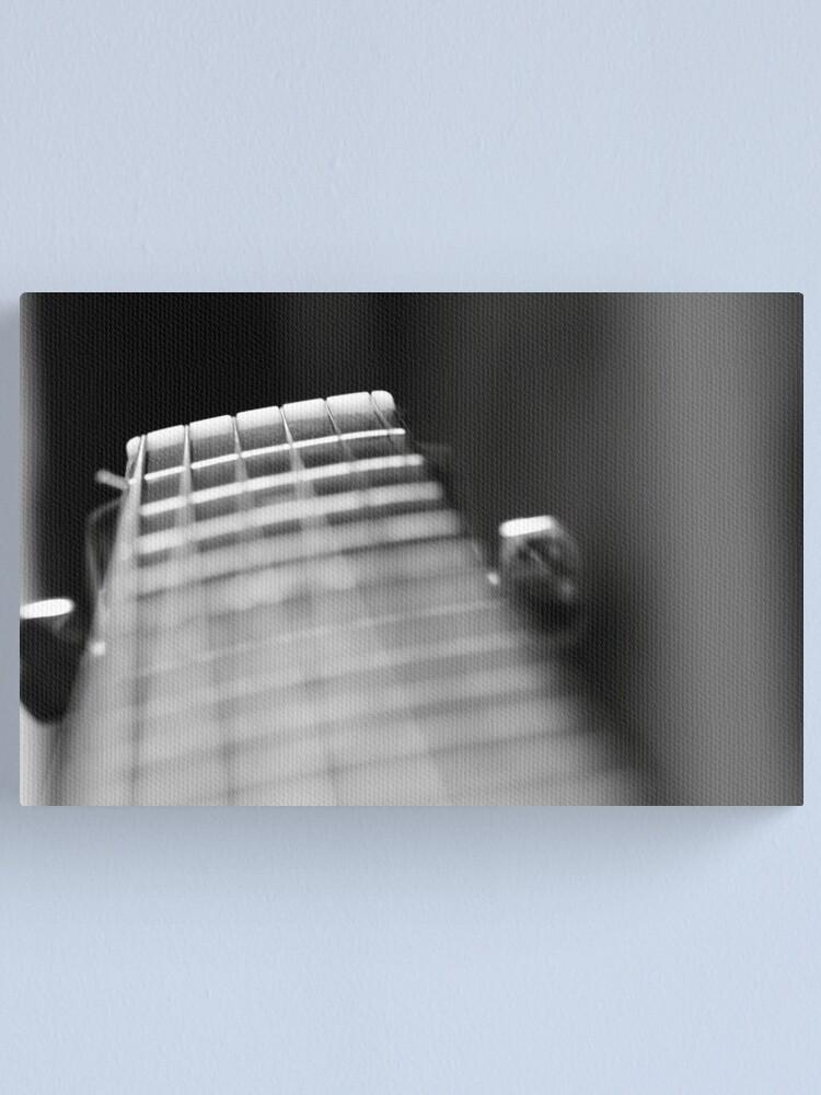 Alternate view of Strings Canvas Print