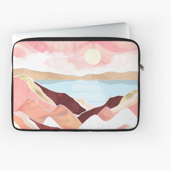 Autumn Lake Sunrise Laptop Sleeve