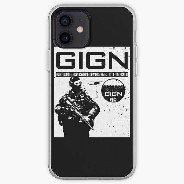 Groupe d'intervention de la gendarmerie nationale des forces d'élite du GIGN Coque souple iPhone