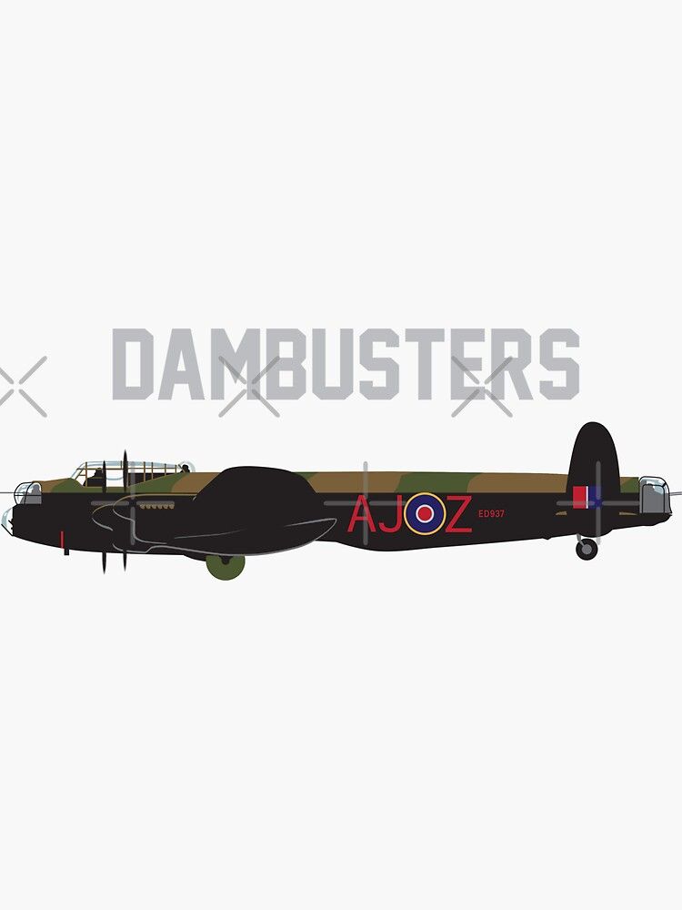 Avro Lancaster (Dambusters) WWII by wiscan