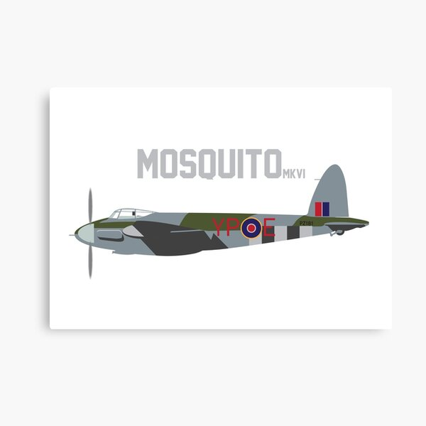 De Havilland Mosquito Fighter Bomber of RAF WWII Canvas Print