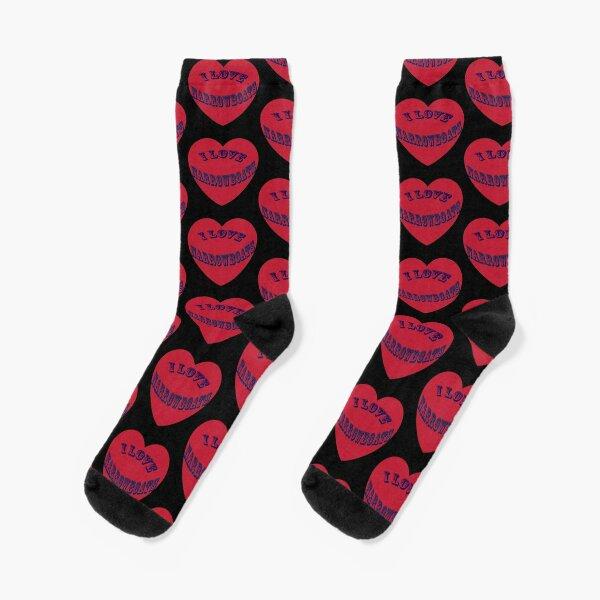 I love Narrowboats  Socks