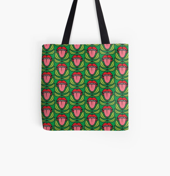 Tongues All Over Print Tote Bag