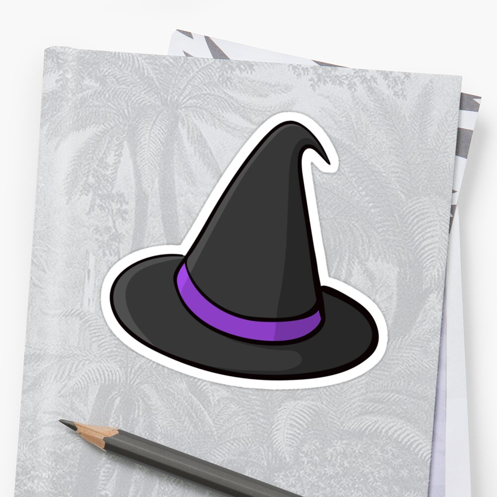 Witch hat sticker by Mhea