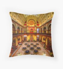 The Union Station Hotel Throw Pillow