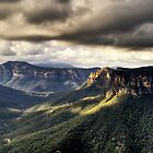 Evans Lookout Blackheath Blue Mountains Australia by DavidIori