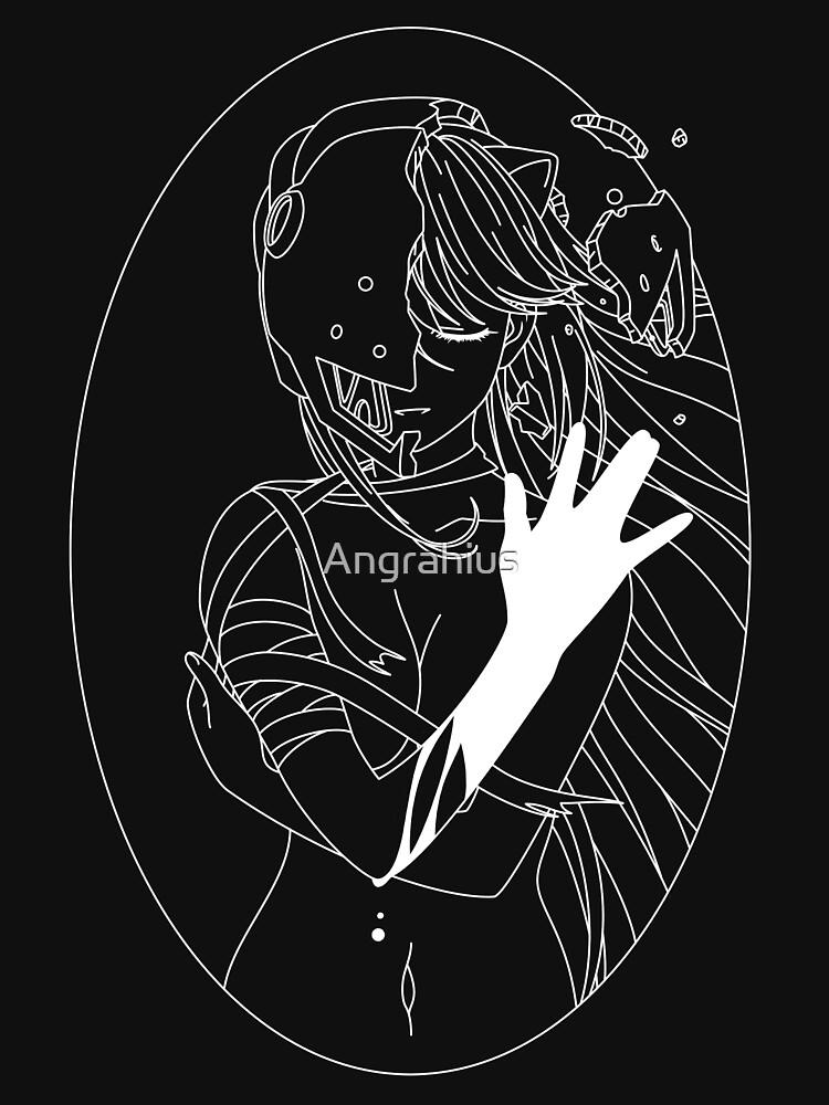 Elfen Lied - White | Unisex T-Shirt