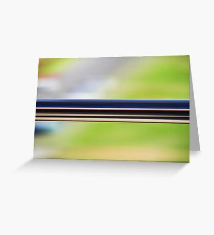 the railing Greeting Card