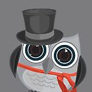Top Hat Owl - Large by Adamzworld