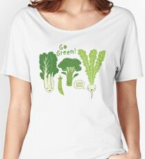 Go Green! (Leafy Green!) Women's Relaxed Fit T-Shirt