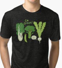 Go Green! (Leafy Green!) Tri-blend T-Shirt