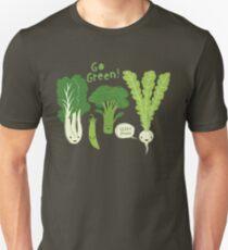 Go Green! (Leafy Green!) Slim Fit T-Shirt