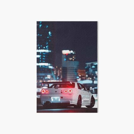 Nissan GTR Skyline Art Board Print