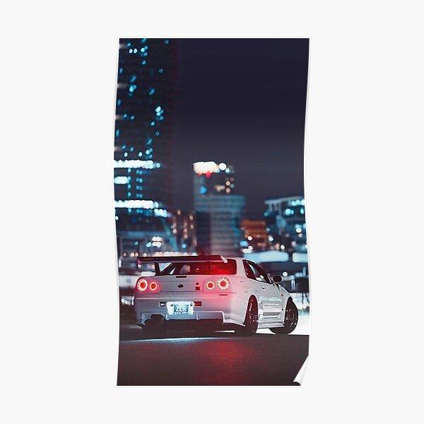 Nissan GTR Skyline Poster