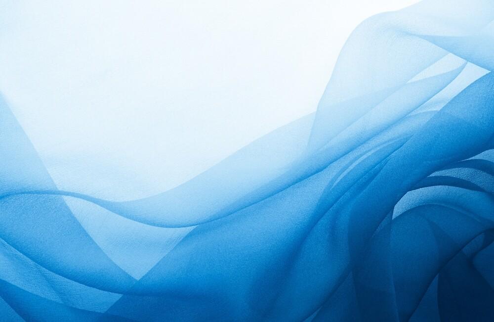 Blue Chiffon by mfreeburn