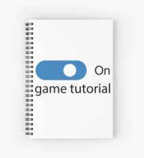 Game Tutorial Spiral Notebook
