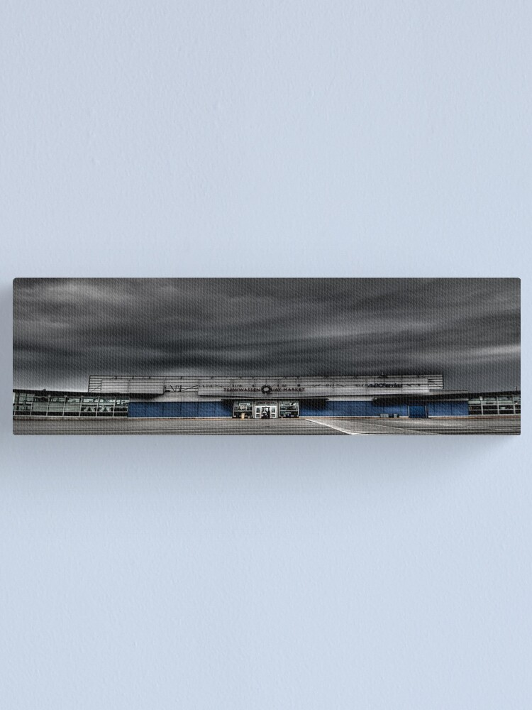 Alternate view of Room at the Ferry Terminal Canvas Print