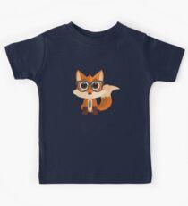 Camiseta para niños Fox Nerd