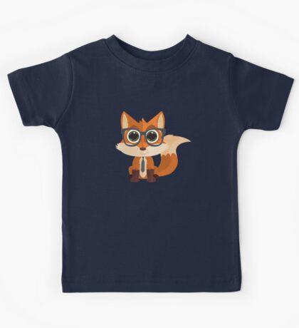 Fox Nerd Kids Tee
