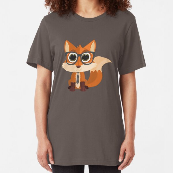 Fox Nerd Slim Fit T-Shirt