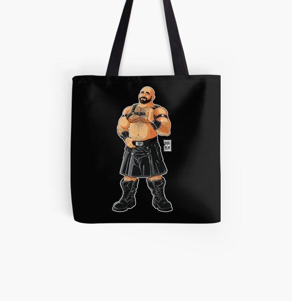 JIM LIKES LEATHER KILTS All Over Print Tote Bag