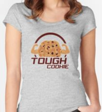 Tough Cookie Women's Fitted Scoop T-Shirt