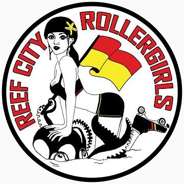 Reef City Roller Girls - Posters & Cards by reefcityrg