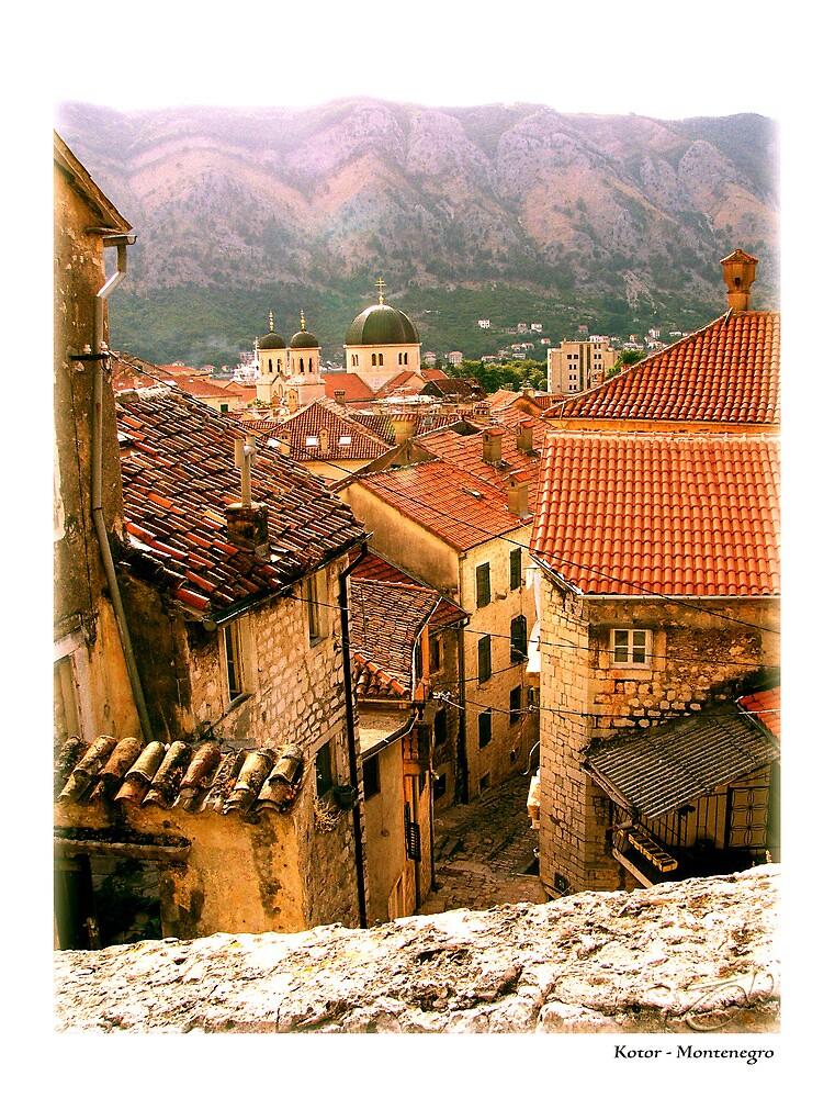 Kotor Rooftops - Montenegro by newshamwest