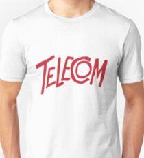 Telecom Logo Red Unisex T-Shirt