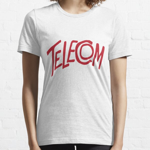 Telecom Logo Red Essential T-Shirt