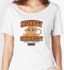 Monkey University Women's Relaxed Fit T-Shirt