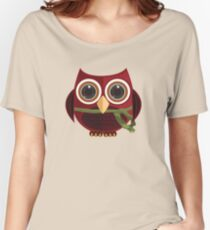 The Red Owl Women's Relaxed Fit T-Shirt