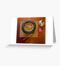 Prawn Noodles Greeting Card