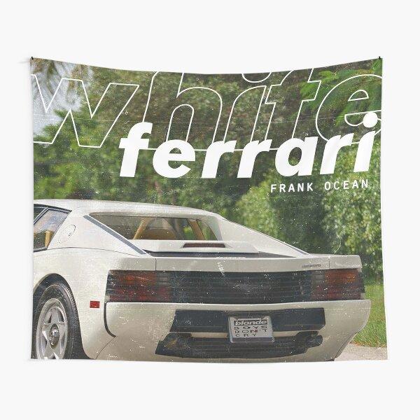 White Ferrari Tapestry
