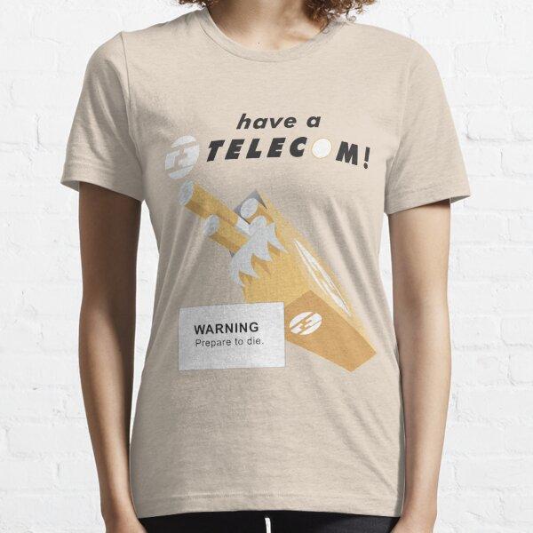 Telecom Cigarettes Will Kill You Essential T-Shirt
