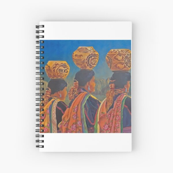 3 potters Spiral Notebook
